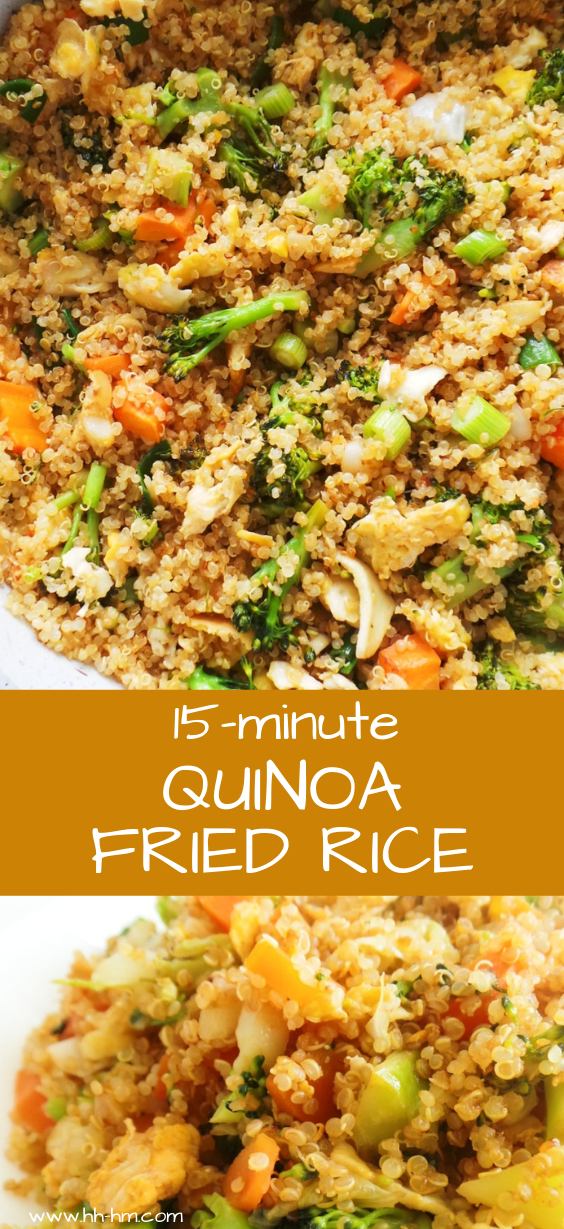 Photo of 15-Minute Quinoa Fried Rice Recipe – Her Highness, Hungry Me