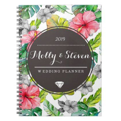 Custom Wedding Planner Organizer Note Book