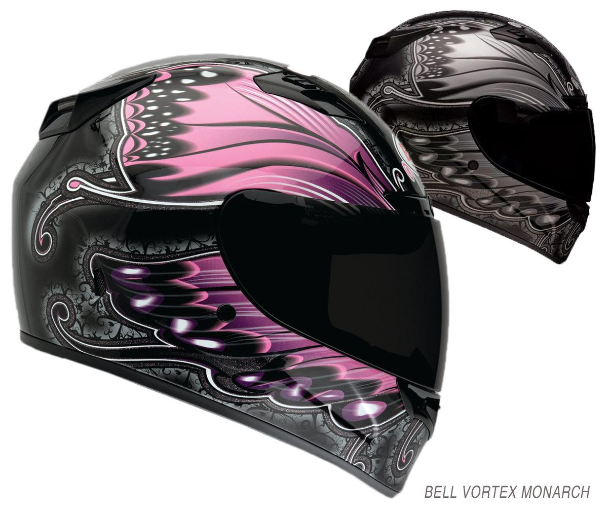 Bell Helmets Releases New Color Schemes For Fall Catalog - Pink motorcycle helmet decals