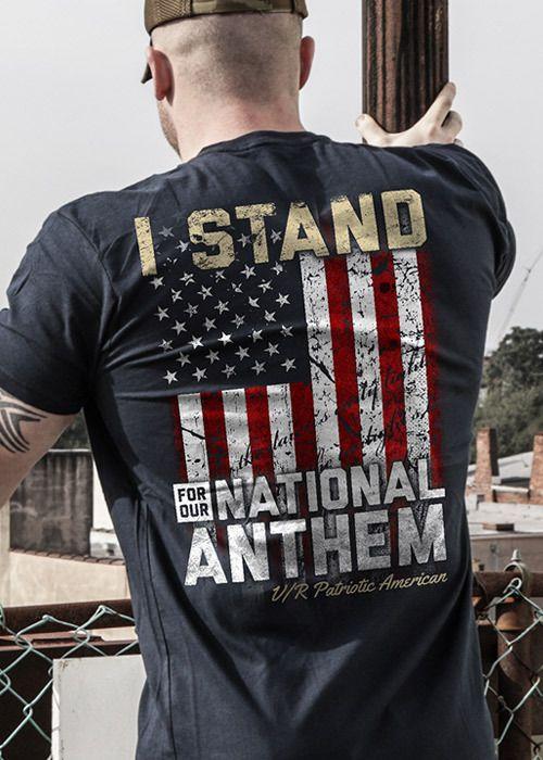 Men's TShirt I Stand Nine line apparel, Shirts, T shirt