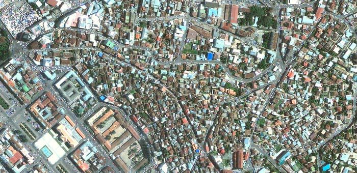 CITY YEAST -Antananarivo 安塔那那利佛 馬達加斯加 worldwide city color 都市色彩世界觀 google map
