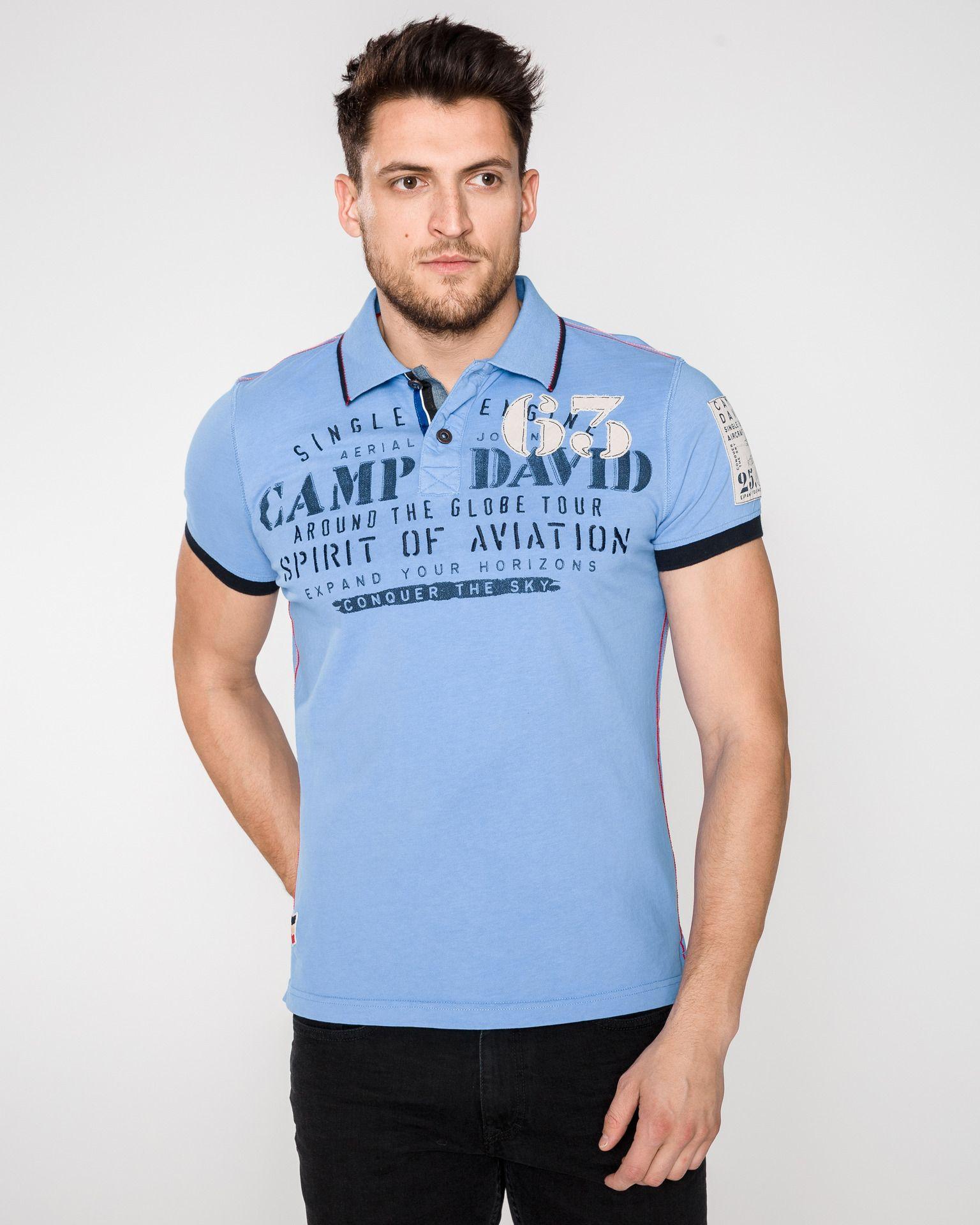 Camp David Polo Shirts Creative Designs For Leisure Polo Shirt