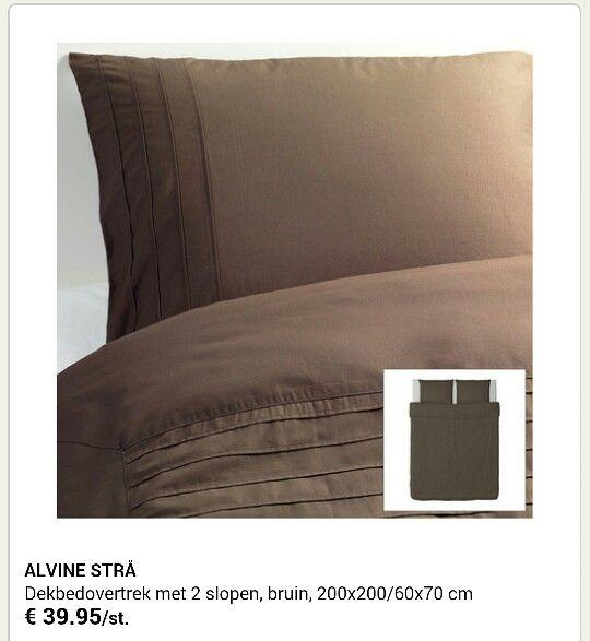 Ikea dekbedovertrek  Slaapkamer  Hogar Blanco en Ropa