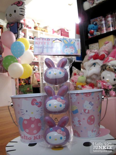4f383518c Hello Kitty Things from Target, Tin Pales and Plastic Bunny Easter Eggs