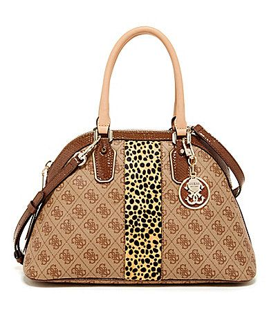 Guess Cheatin Heart Dome Satchel Dillards Bag Satchels Shoulder Strap