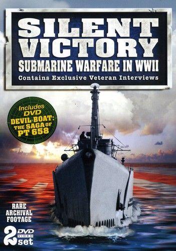 Silent Victory Submarine Warfare in WWII DVDSubmarine