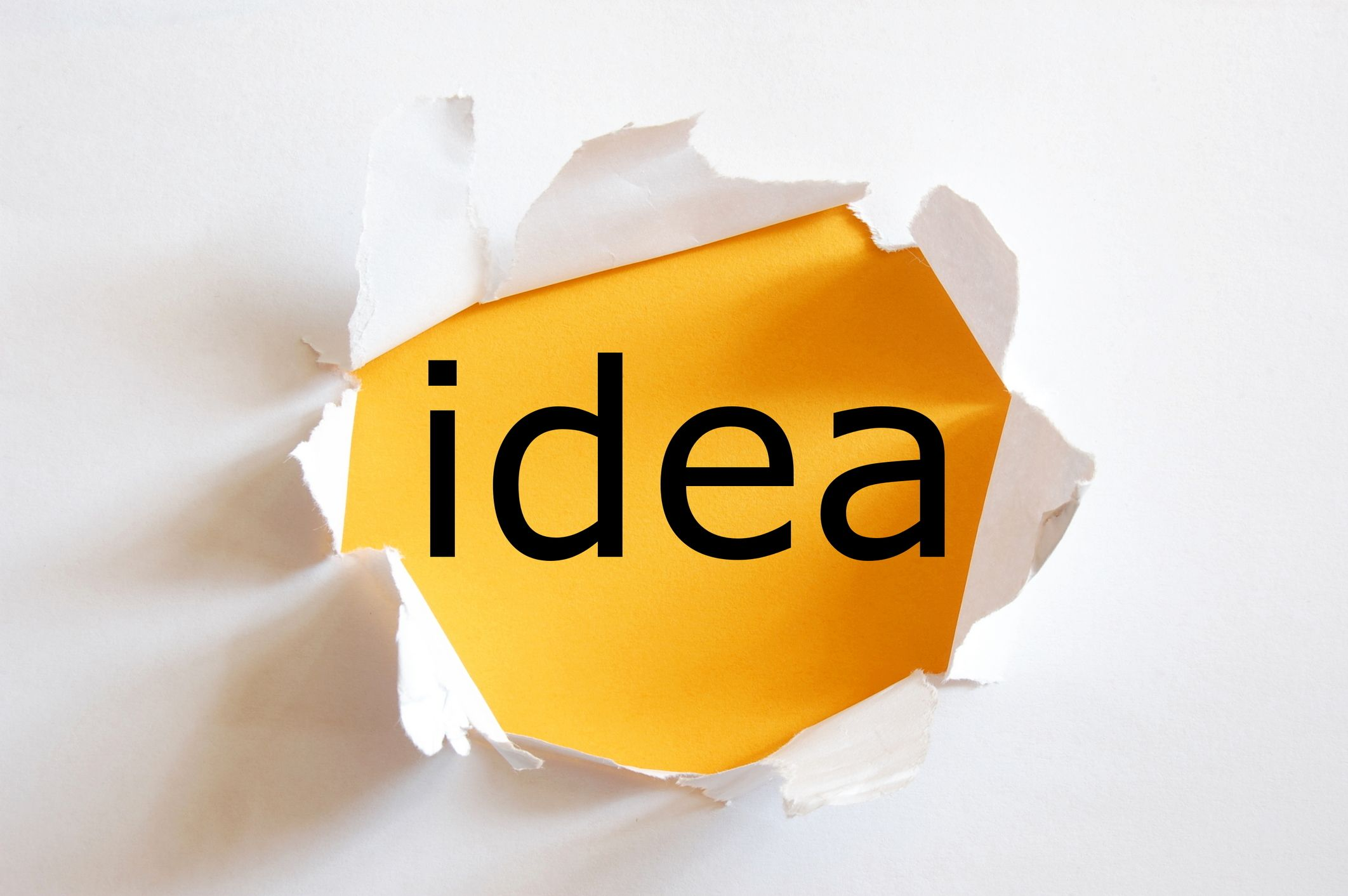 just takes one idea - Idea Design