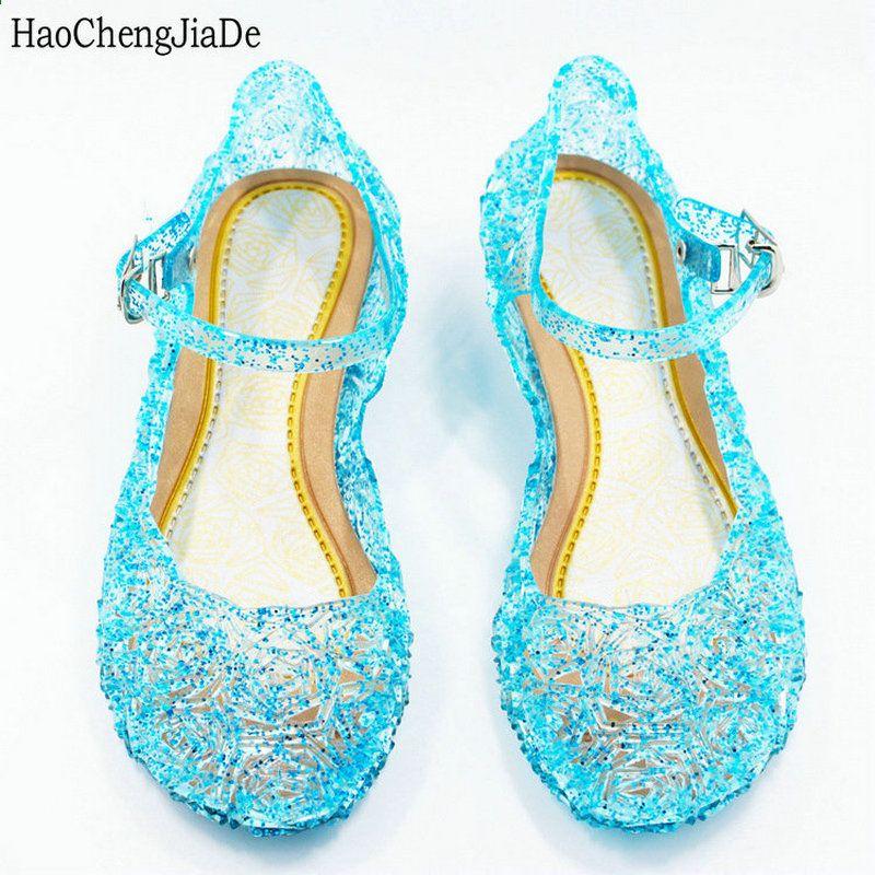 new style 07264 c426e scarpe per bambini ragazze che ballano sandali anna & elsa ...