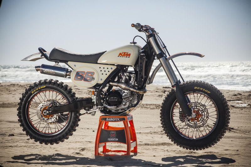 The Kurt Caselli tribute bike by Roland Sands