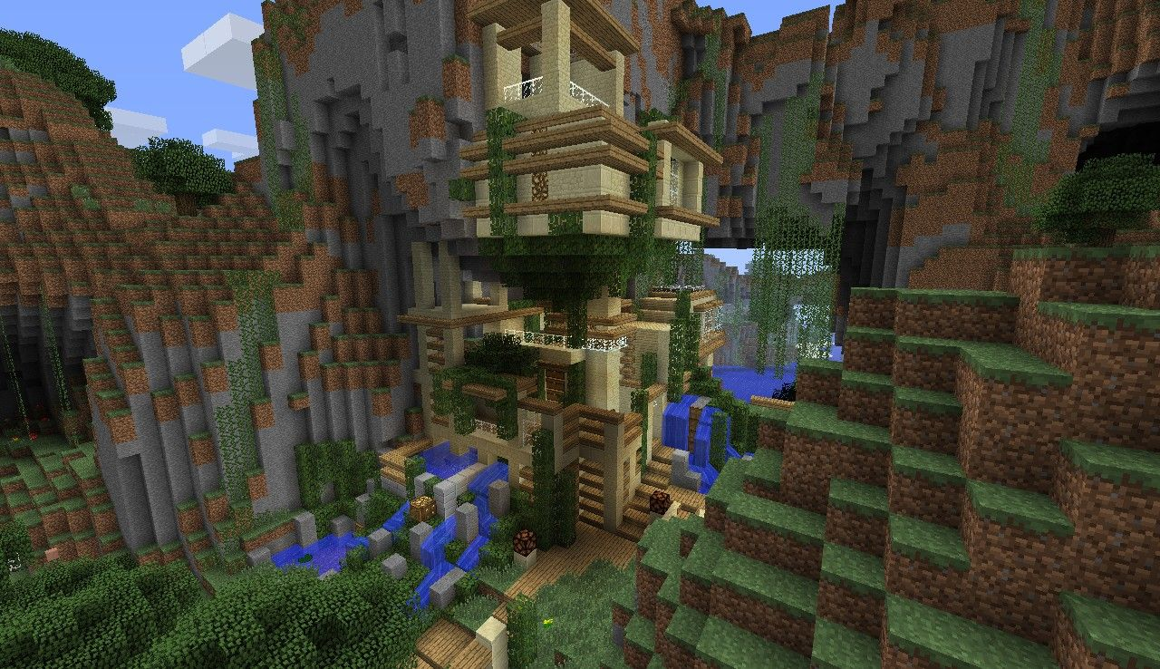 Minecraft cliff house google search minecraft pinterest minecraft cliff house google search sciox Image collections