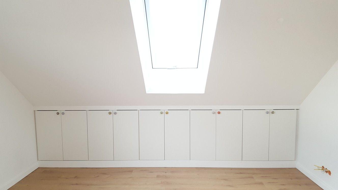 Ikea Hack Drempelschrank Dachschrage Einrichten Treppen Design