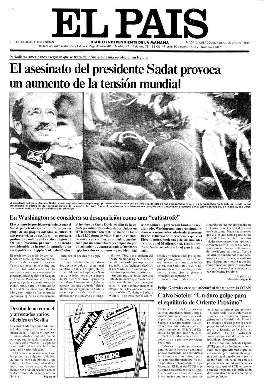7 de Octubre de 1981
