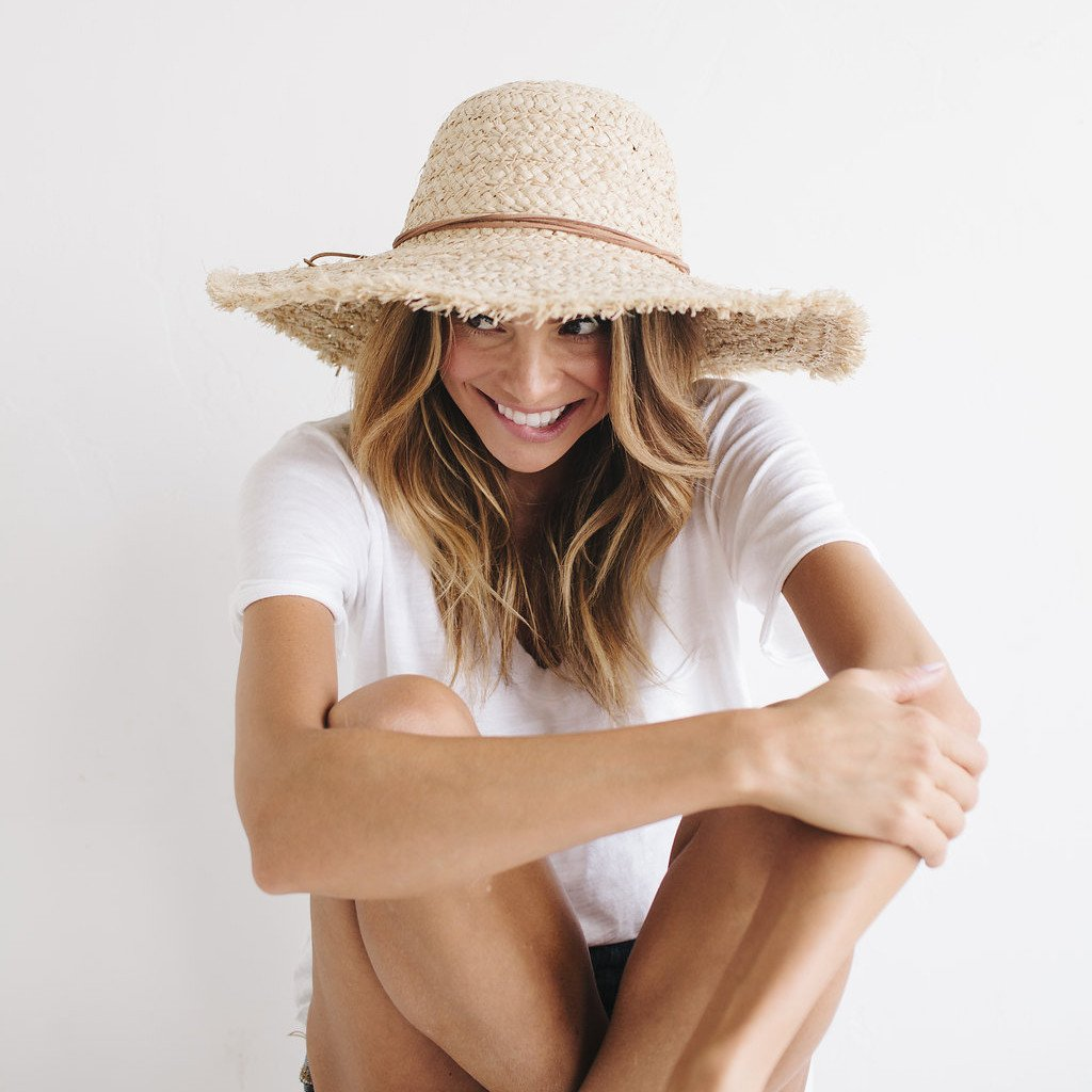 Addie - Women s Straw Wide Brim Sun Hat in 2018  eb3840c92722