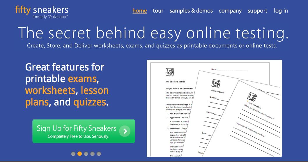 Technology Resources Grammar skills, Online tests