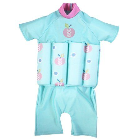 Splash About Kids Floatsuit with Adjustable Buoyancy 1-2 Years Pink Blossom