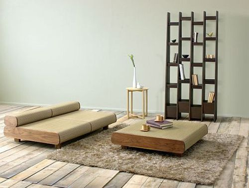 Agura Sofa - Style of Japanese Furniture by Hisae Igarashi