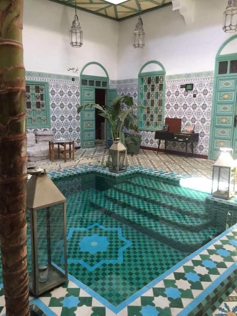 Staying at a Marrakech Riad is like stepping into a story book ...