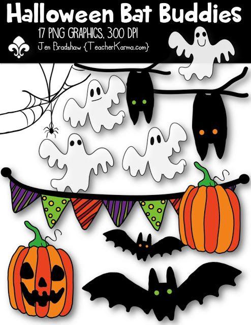 Free Clipart Today Halloween Bat Buddies