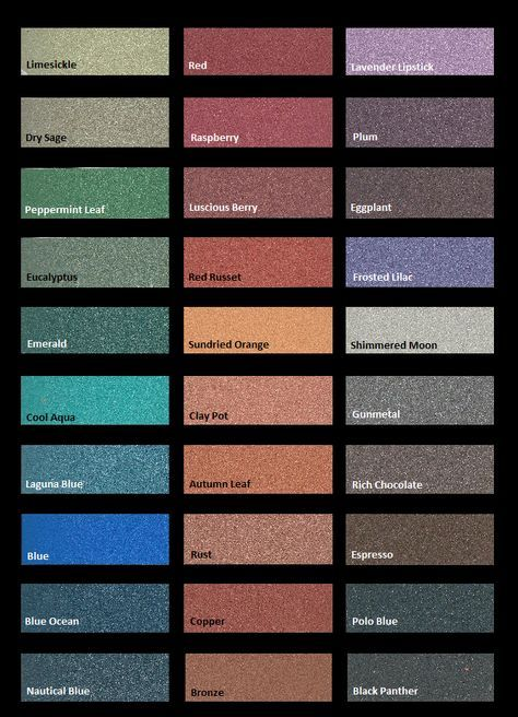 Rustoleum Metallic Color Chart Google Search Metallic