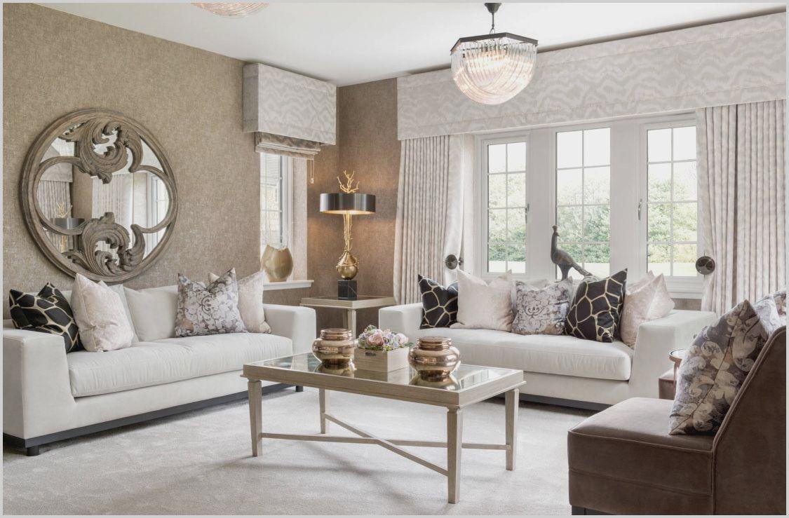 beige white and brown living room di 2020  desain