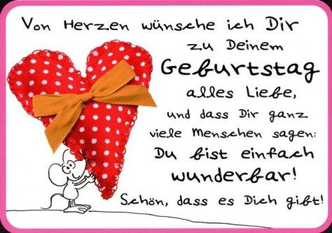 Geburtstagswunsche Cards Quotes In German Pinterest Happy