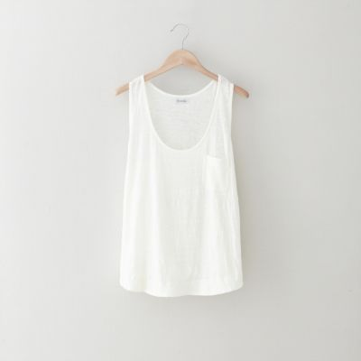 As I search for the perfect white tank I Steven Alan