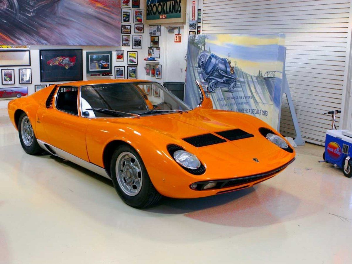 The 25 Coolest Cars In Jay Leno\'s Garage | Lamborghini miura ...