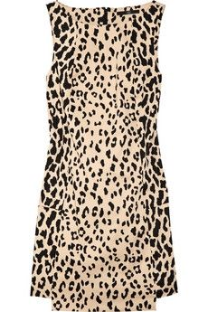 Tibi|Printed cotton-blend sateen dress|NET-A-PORTER.COM - StyleSays