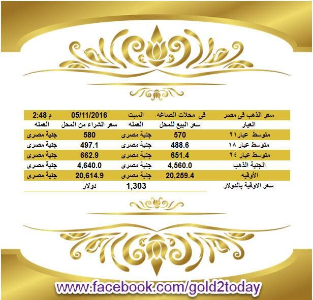 برجاء كومنت او لايك أو شير ليصلكم منا تحديث الاسعار لحظيا سعر الذهب فى مصر فى محلات الصاغه السبت 5 11 2 Jye Gold Rate Bula