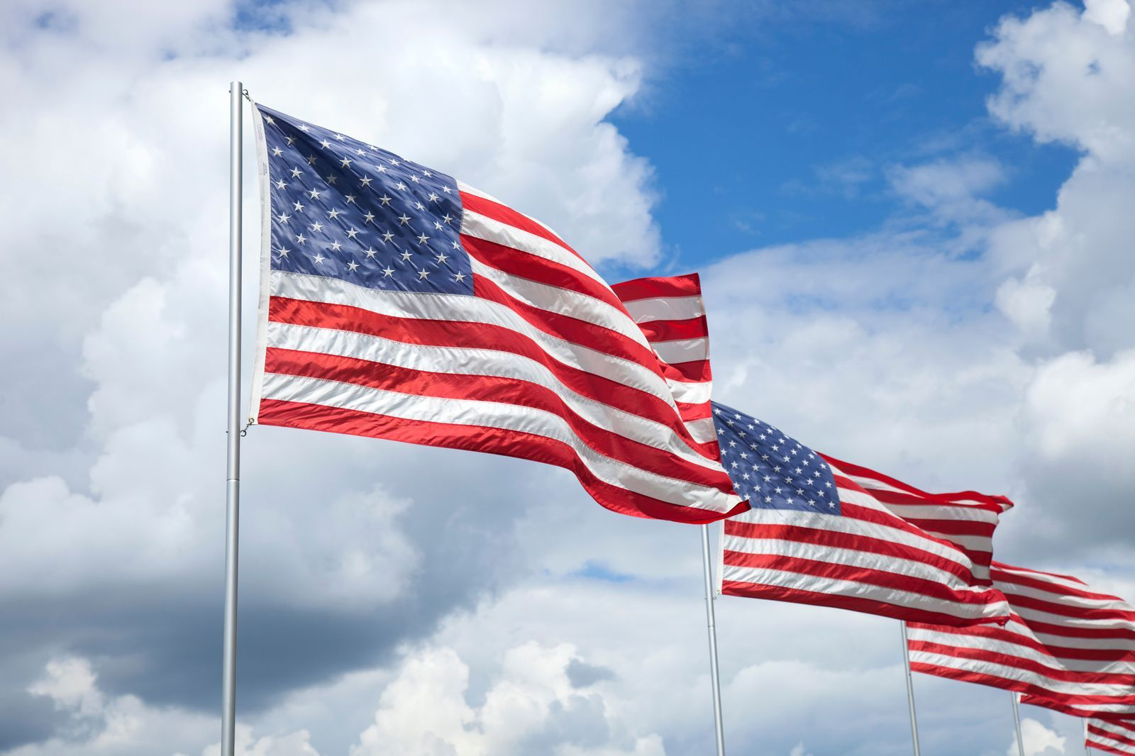 Do you know how to properly display the american flag