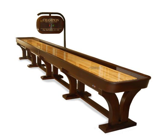 The Venetian Shuffleboard Table Combines Old World Beauty, Elegant Curves  And Beautiful Finishing With The Finest Playfield To Produce A Shuffleboard  Table ...