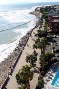 Ventura Beach Promenade Boardwalk California Love Beaches