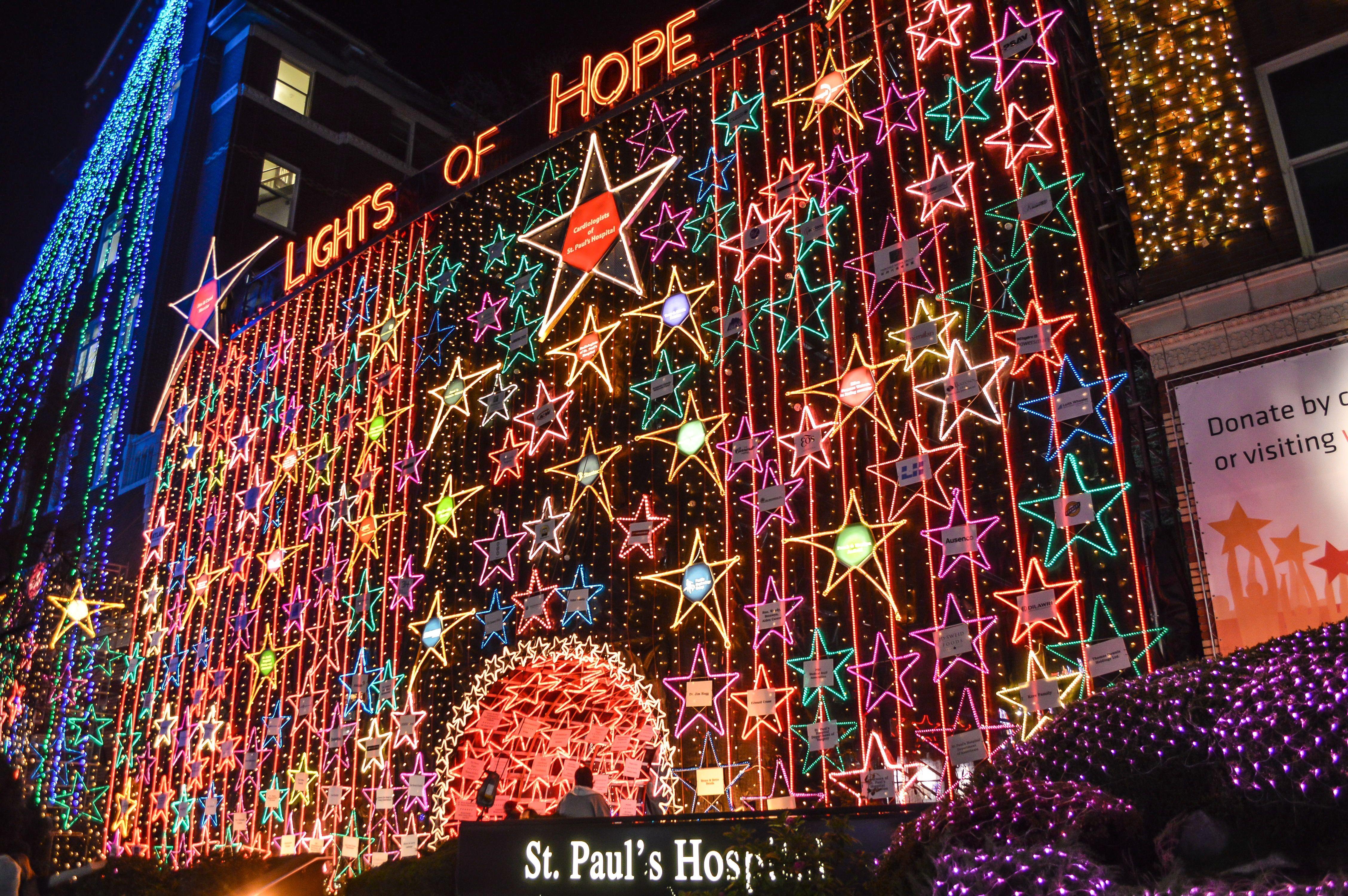 Lights Of Hope Vancouver Holiday Christmas Destinations Holiday Lights Display