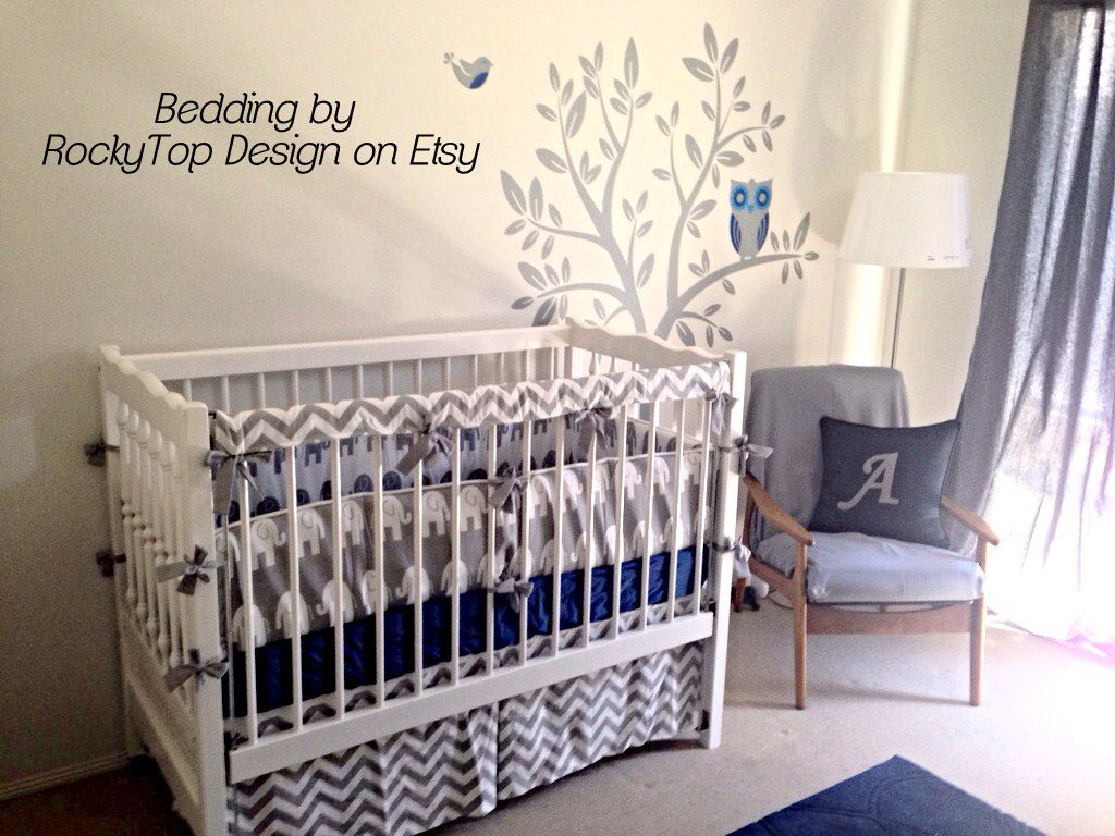 Teething Guards Crib Rail Covers Protectors  by RockyTopDesign, $30.00