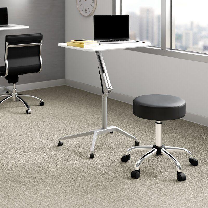 Upper Square Albin Adjustable Laptop Cart Reviews Wayfair In 2020 Adjustable Standing Desk Portable Standing Desk Large Desk