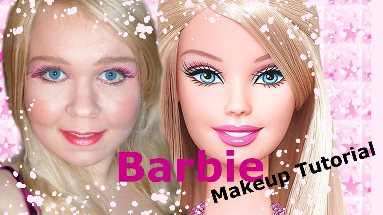 The Barbie Doll Makeup Tutorial -Or Blonde Bimbo