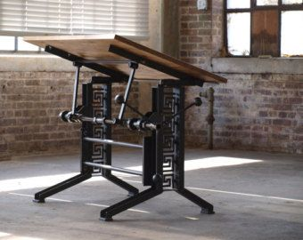 French Industrial Drafting Table Desk | Mobilya | Pinterest | Industrial  Drafting Tables, French Industrial And Desks