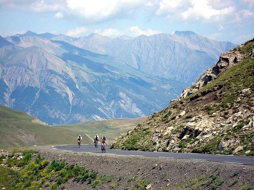 Pin Von Ubaye Vallee Auf Southern French Alps Strasse