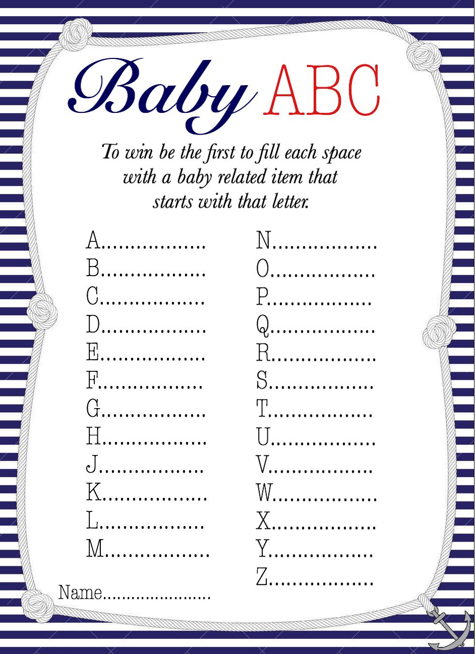 Free printable baby shower games! | Baby shower games | Baby shower fun, Baby  shower printables, Baby shower games
