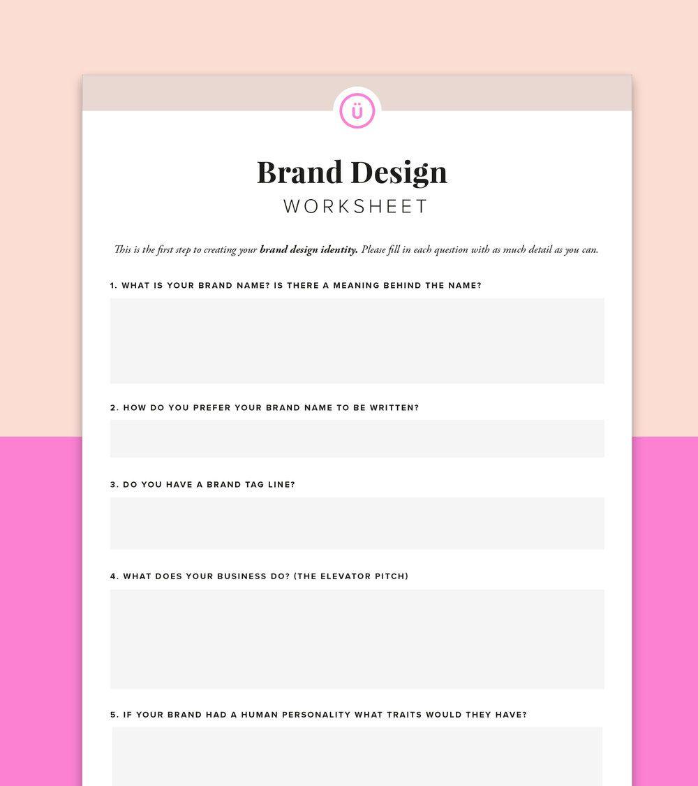 11+ Brand identity worksheet For Free
