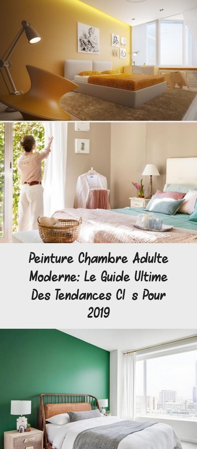 Chambre A Coucher Peinture Gris pin on décoration