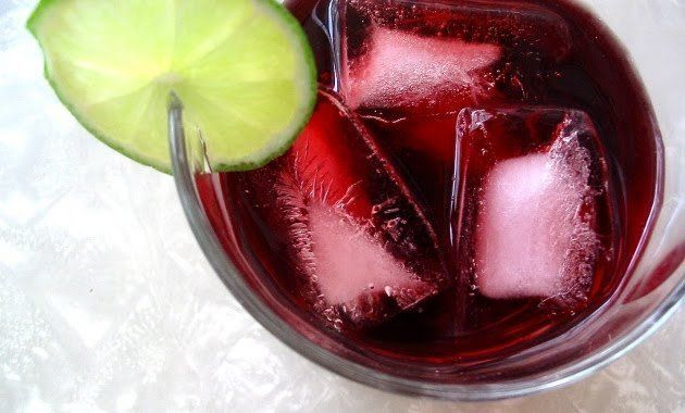 Reduce Tallas Y Desintoxica Agua De Jamaica Con Canela Y Fresas