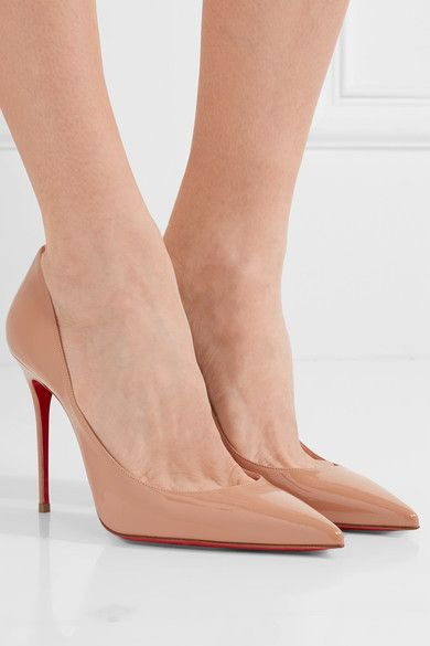christian louboutin decollete 554 fit