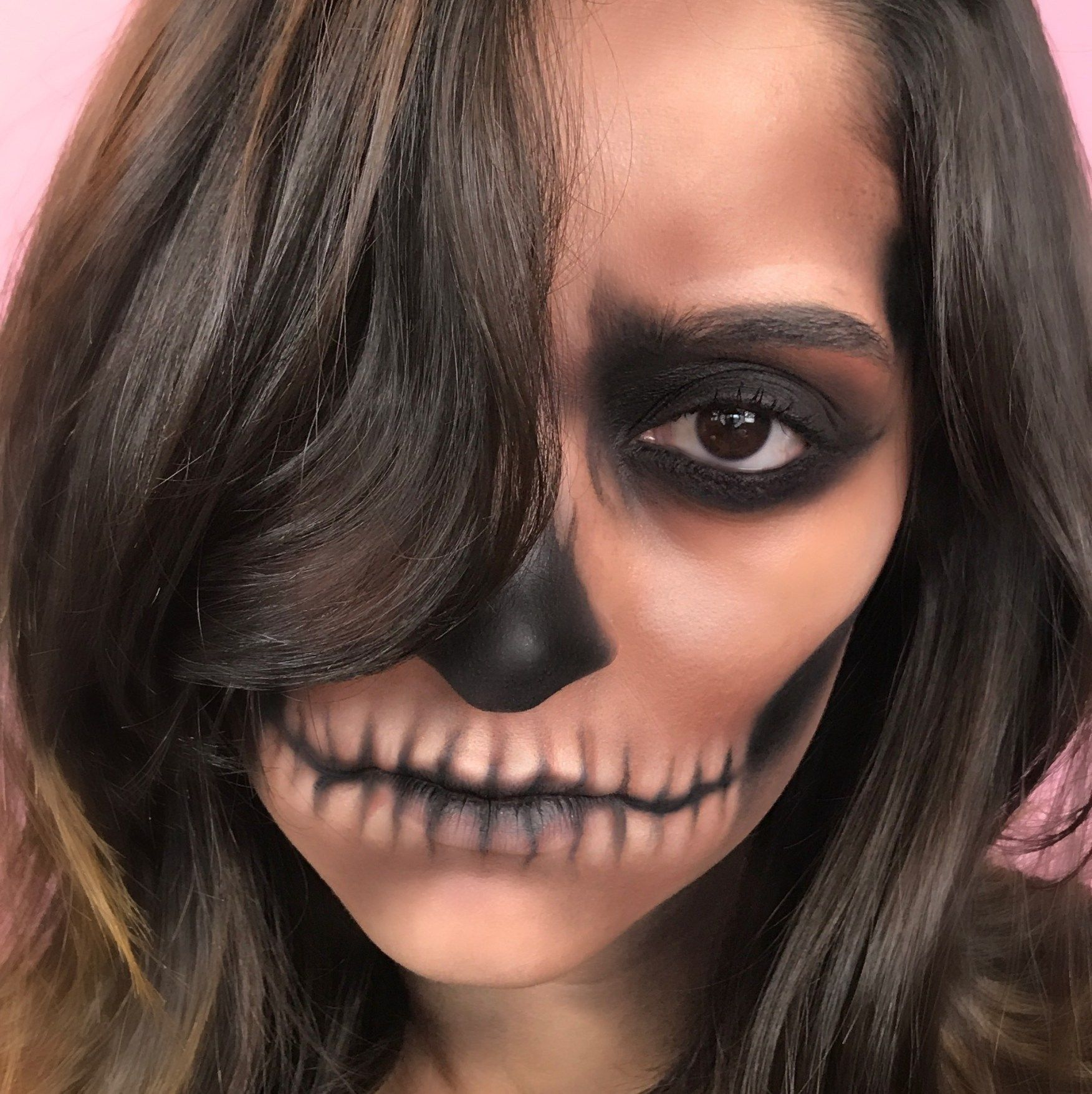 Halloween look, Halloween tutorial, Makeup look, makeup