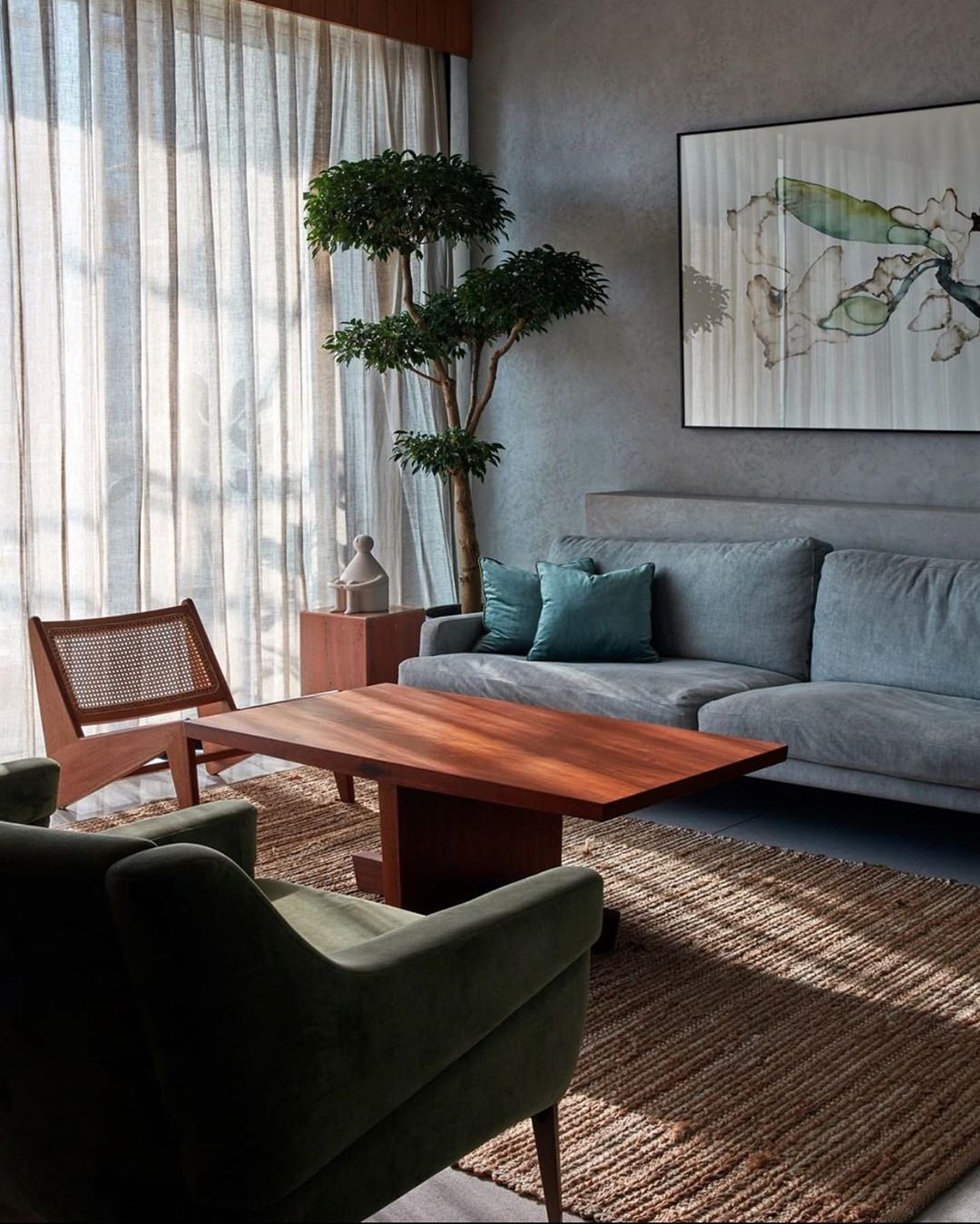 "Marc Costa on Instagram: ""#interiors #interiordesign #design @rayvie #modernism #frenchmodernism #jeanneret #perriand #lecorbusier #prouve #homedecor #decor…"""