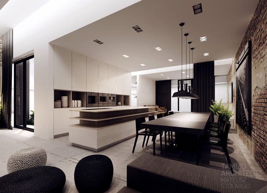 Kler showroom interior design, dobrodzien Rustic + contemporary