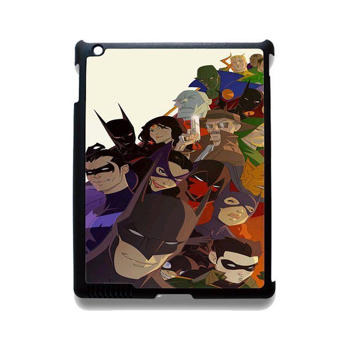 Batman And His Justice League TATUM-1411 Apple Phonecase Cover For Ipad 2/3/4, Ipad Mini 2/3/4, Ipad Air, Ipad Air 2