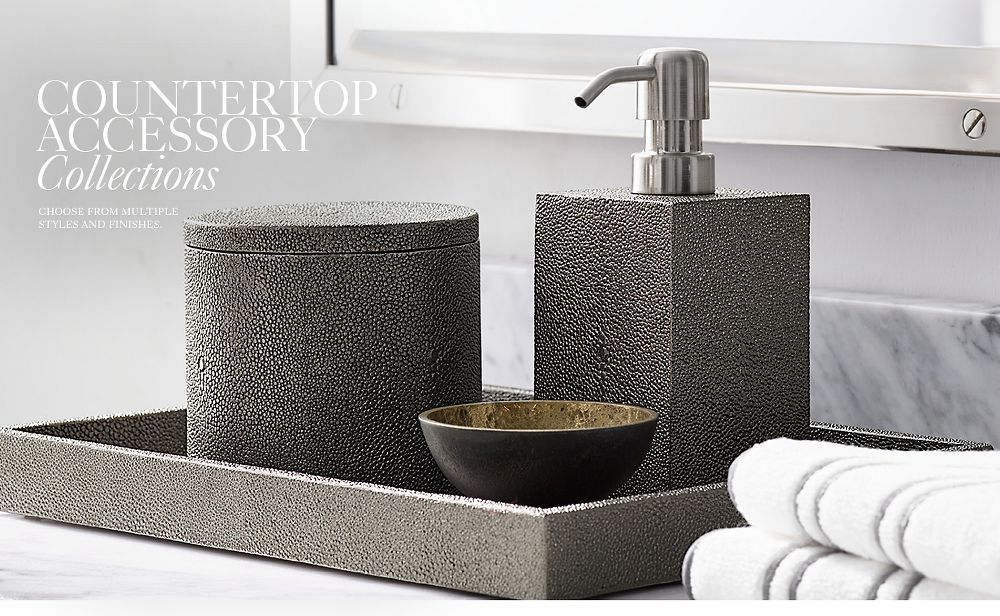 Bath Countertop Collections Bathroom Accessories Luxury