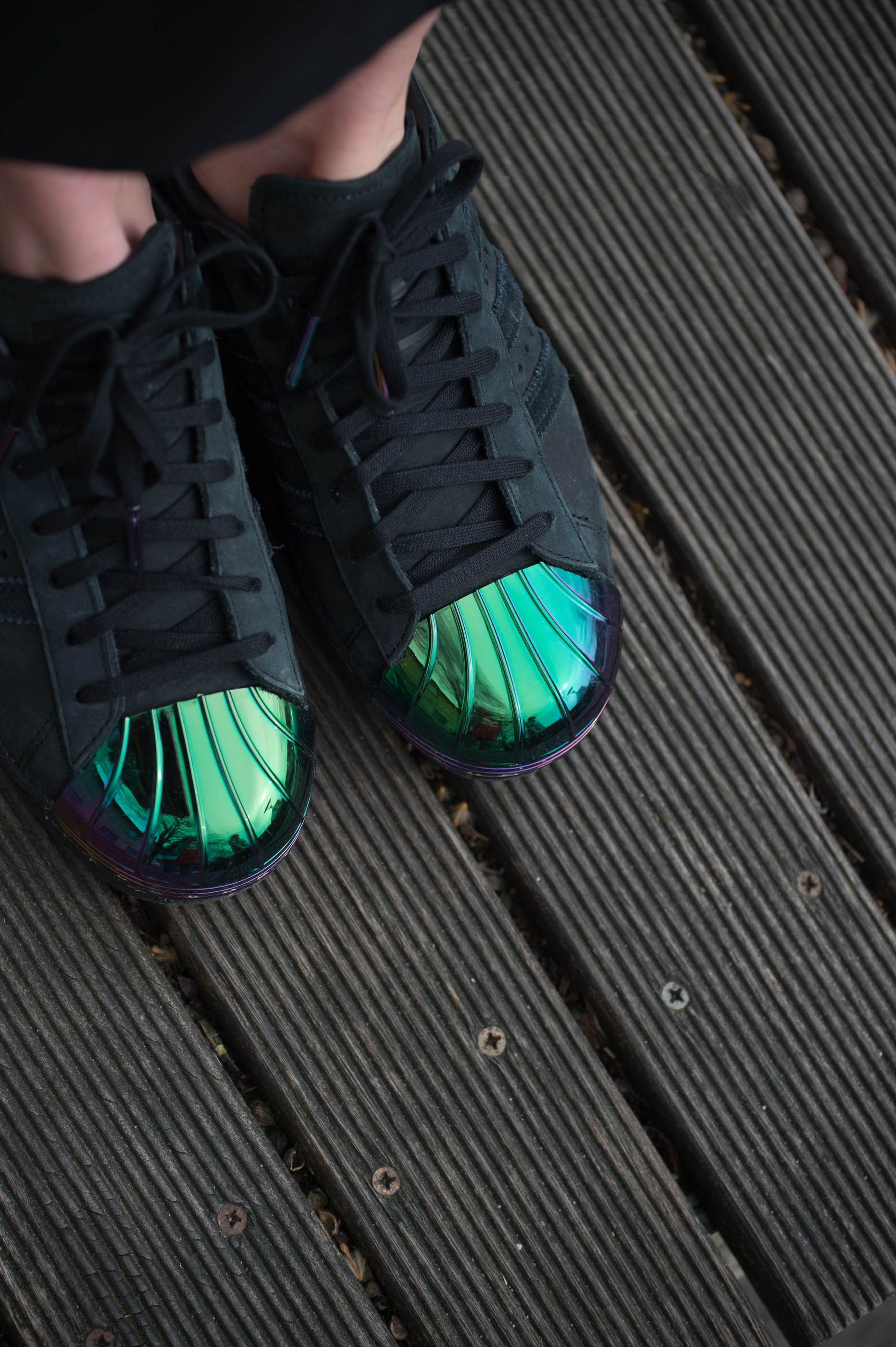 Details about New Adidas Superstar 80s Metal Toe S76710 Women's Core Black Trainers Sneakers