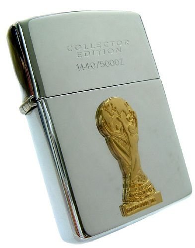 Zippo Lighter - France World Cup